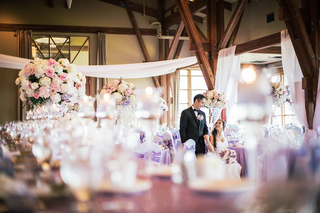Paul Loves Linda: A Lavender and White Luxe Wedding
