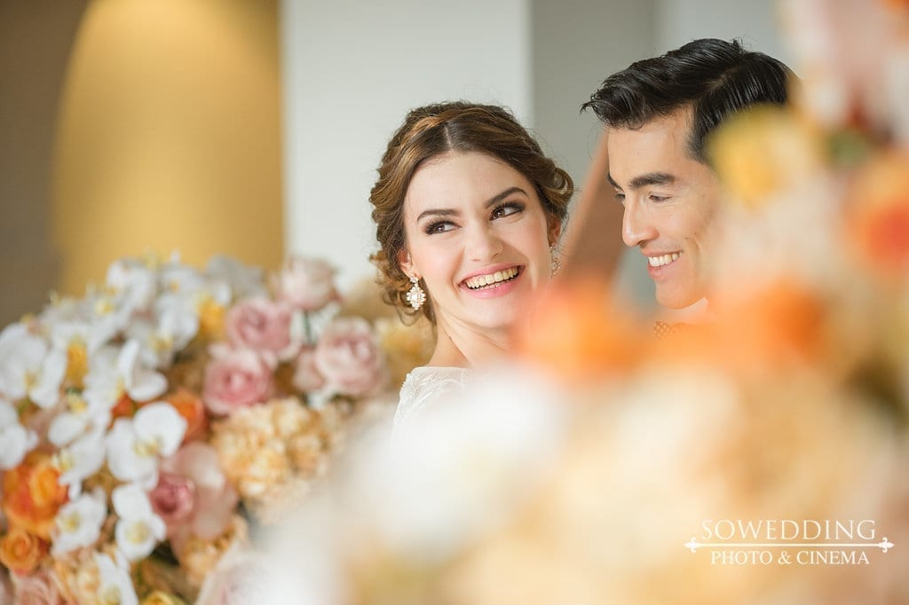 Copper and Rose Gold Modern Art Deco Inspired Shoot (as seen on WedLuxe)