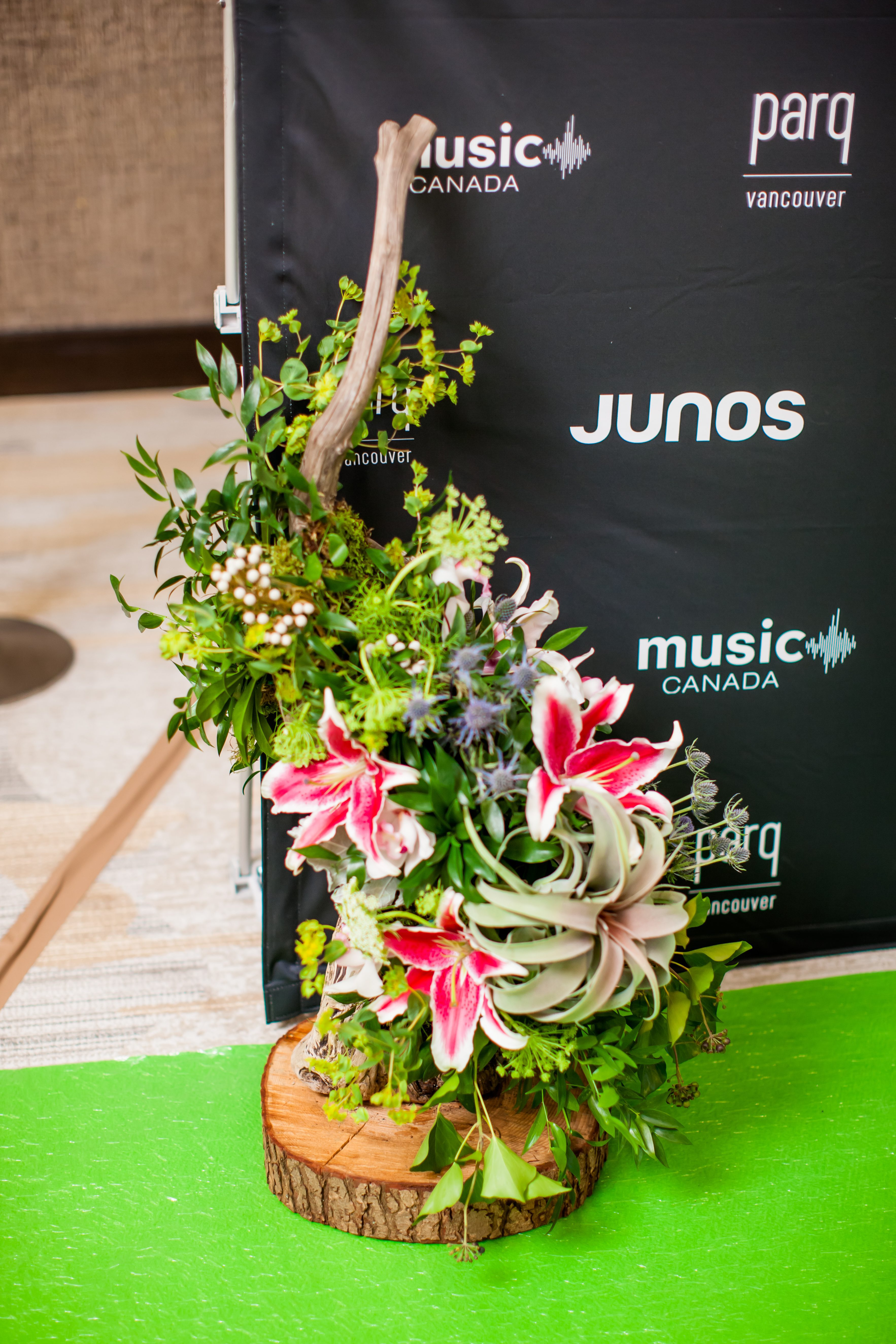 Our JUNO Awards Moments – Part 2: Chairman's Reception, JUNO Welcome Reception- JW Marriott Parq Vancouver