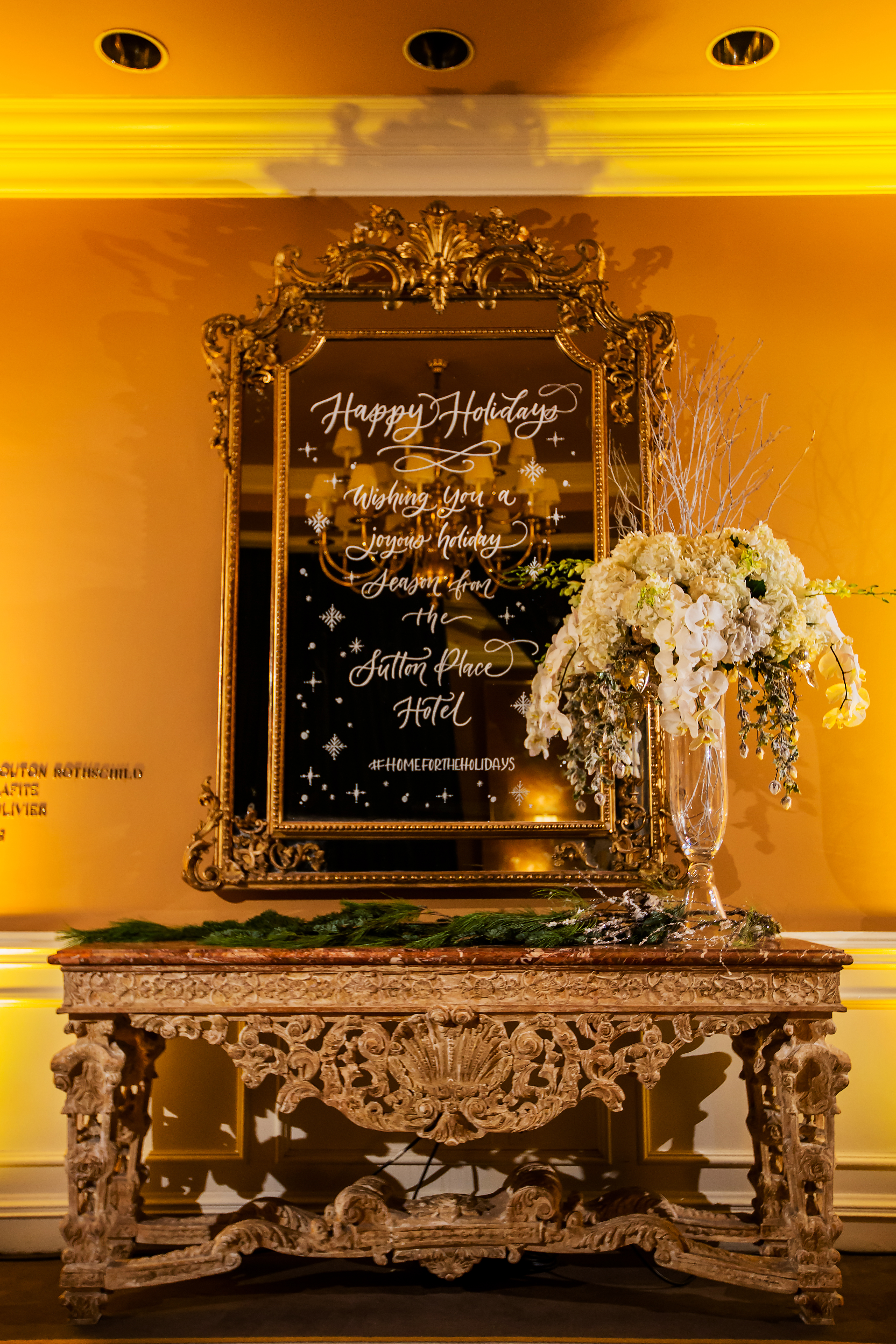 Home for the Holidays- A Holiday Tradition at the Sutton Place Hotel